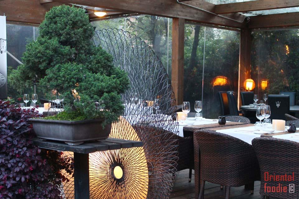 Ristorante finger 39 s garden il fusion di moda milano for Il giardino milano ristorante